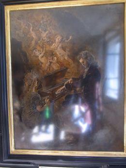 1ザルツブルクモーツアルト生家の絵画