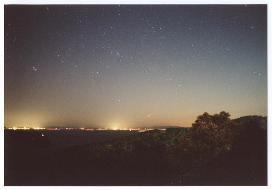 ヘール・ボップ彗星20mm