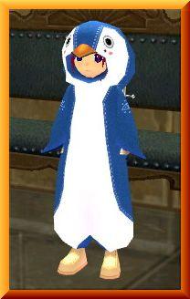 ペンギンでごまかす