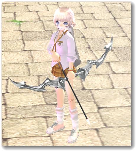 130526黒き龍騎士の弓