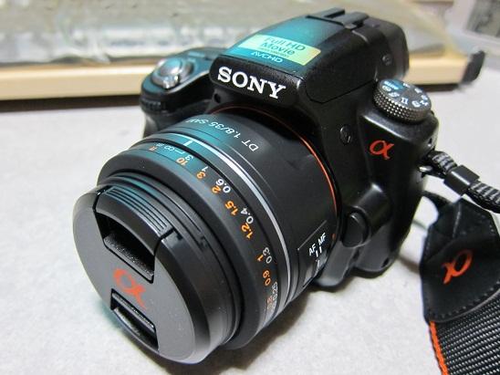 SONY「α33 Wレンズキット(装着しているのはDT35F1.8」