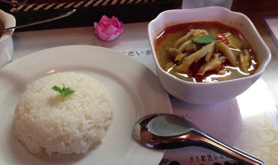 タイ料理レストラン トムヤムクン「トムヤムクンランチセット」