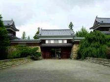 上田城・東虎口櫓門1