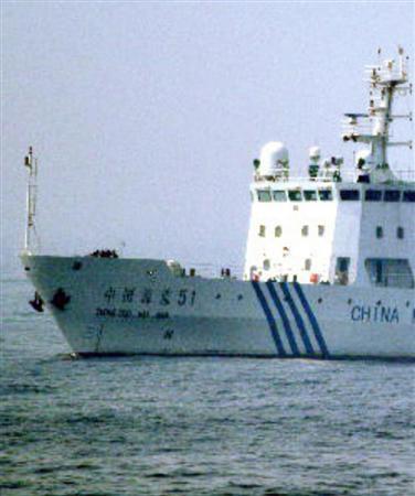 巡視船中国