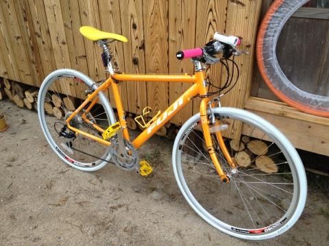 チャラチャラした自転車②