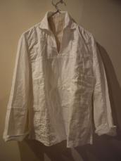 KAPITAL ホワイトパッチワーク カトマンズプルシャツ