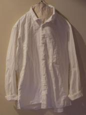 KAPITAL オックス ちび衿マーブルシャツ