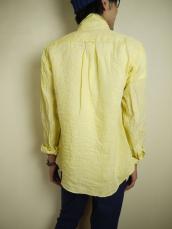 SFC フレンチリネン セミワイドアンカーエンブレムL/Sシャツ