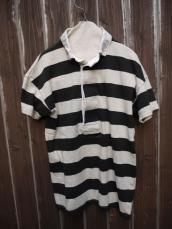 KAPITAL ボーダー天竺 昔ラガーシャツ(半袖)