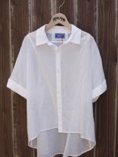 BLUE BLUE JAPAN(OKURA) コットンシフォン WOMEN'Sワイドシャツ
