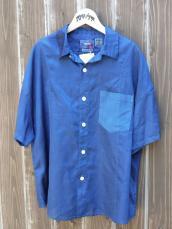 BLUE BLUE JAPAN(OKURA) カワリオリ ホンアイゾメ WOMEN'Sワイドシャツ