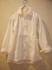 KAPITAL ホワイトパッチワーク カトマンズシャツ(再入荷)