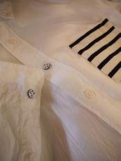 SFC ピマボーダー ボタンダウンL/Sシャツ