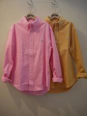 HRM ジャーニーコットンリネン オックスストレッチBD L/Sシャツ