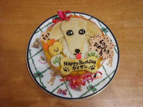カイザー6歳のケーキ