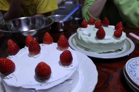 ツインなケーキ