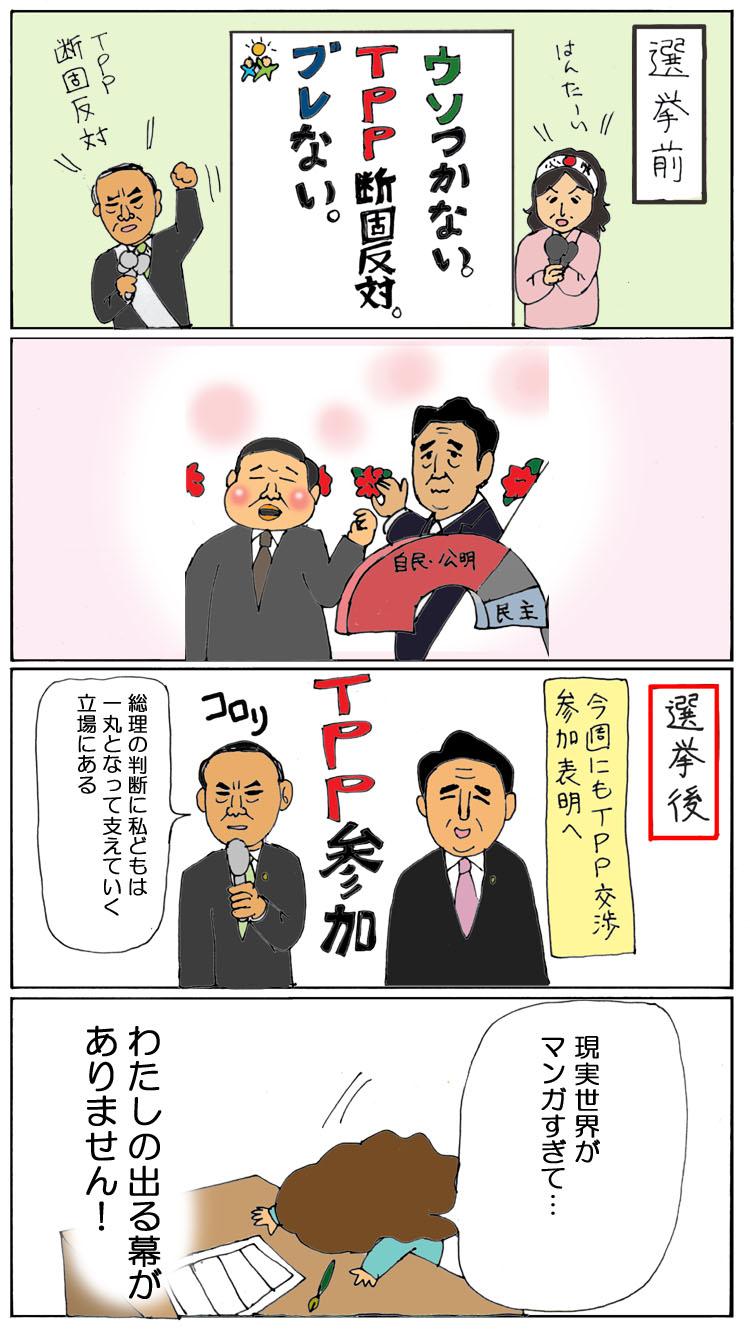 選挙前選挙後TPP