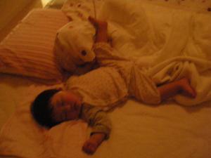 0529深琴の寝姿