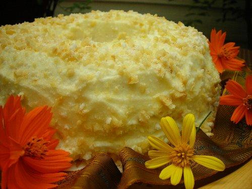 ヘーゼルナッツのバターケーキ