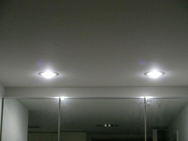 LED電球に換装後