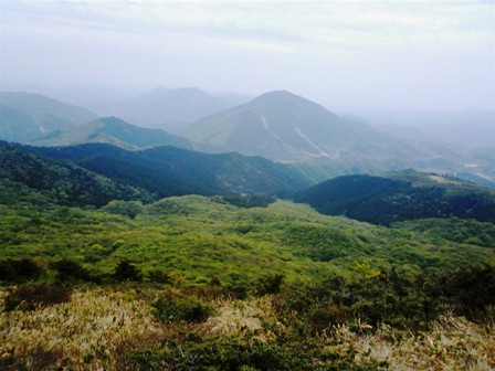 岩樋山頂上からの景色4
