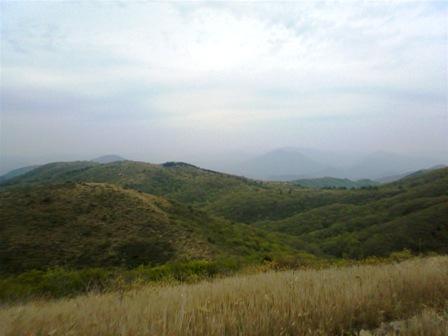 岩樋山頂上からの景色