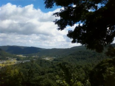 地蔵岩からの景色