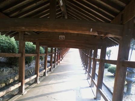 吉備津神社 廻廊3
