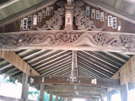 吉備津神社 廻廊2