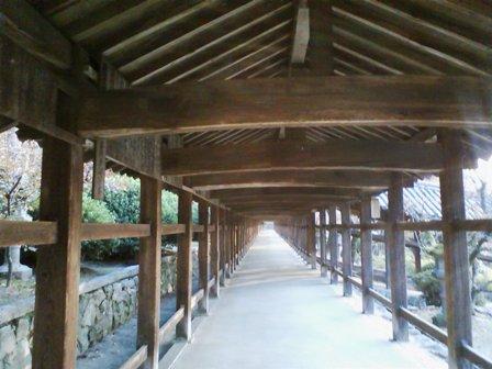 吉備津神社 廻廊5