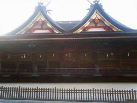 吉備津神社 本殿2