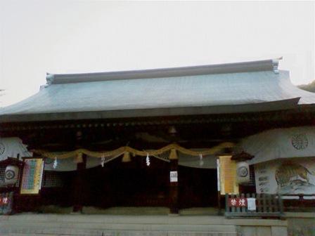 吉備津彦神社 拝殿