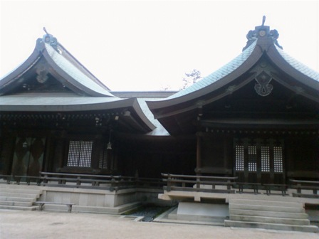 吉備津彦神社 祭文殿