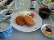 003コロッケ定食