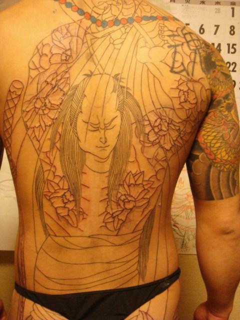 井戸端 団七 大和 桜ヶ丘 四代目 梵天 彫けん Bonten IV Tattoo studio ブログ