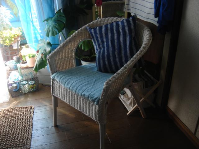 エマニエル夫人の籐椅子