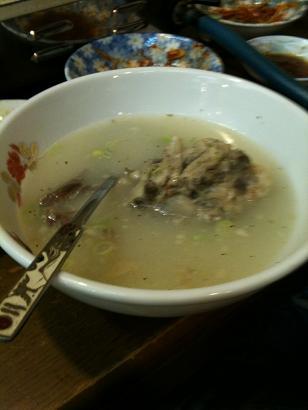 聖蘭 テールスープ