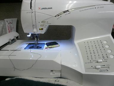 SP-3500 ジャガー 刺繍ミシン