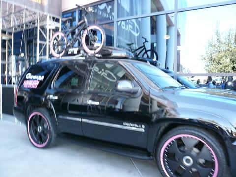 Giovanna ホイールとお揃いの自転車