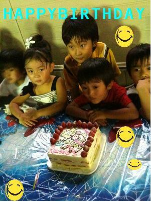 バズのケーキ
