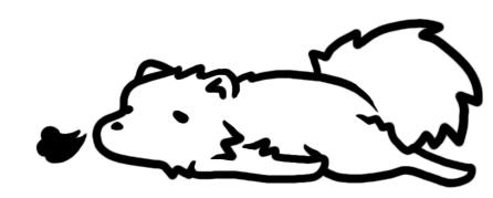 でれす犬(ポメ)