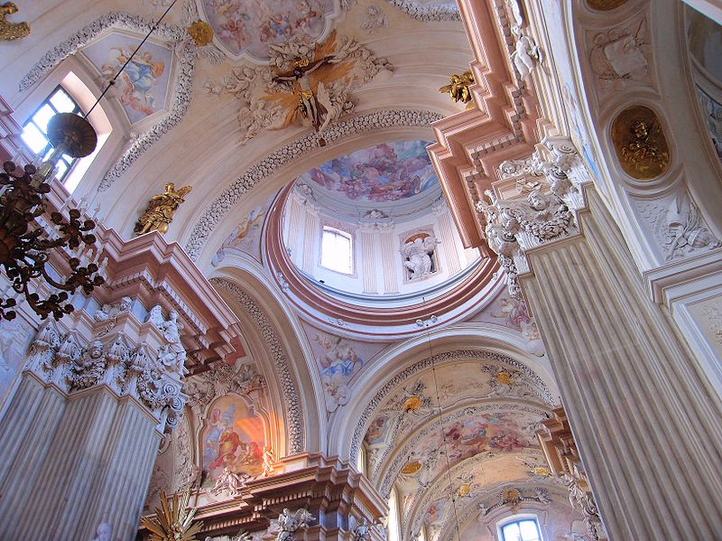 Annas Church Cracow interior