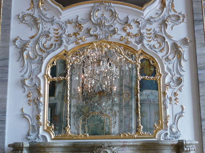 ロココの鏡 Schloss Ludwigsburg; Spiegelsaal