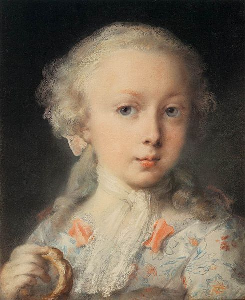 Rosalba Carriera- Young Lady of the Le Blond Family
