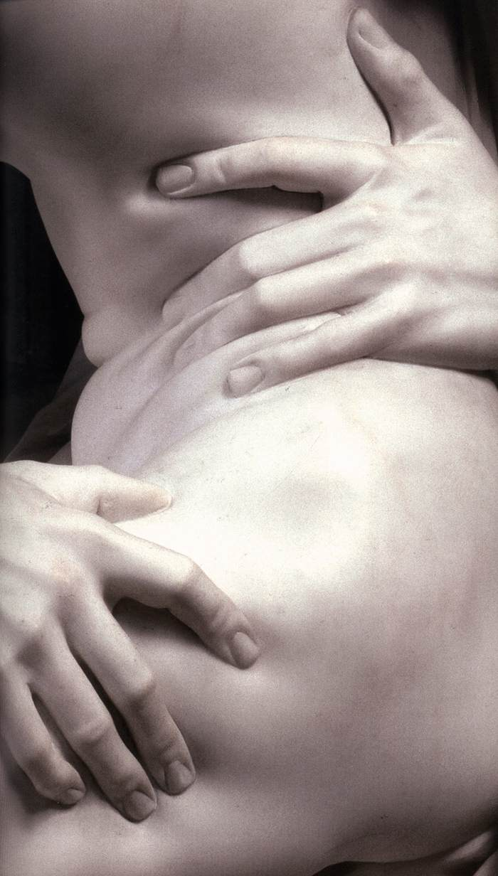 The Rape of Proserpina (detail) 1621-22 Marble Galleria Borghese  Rome    2