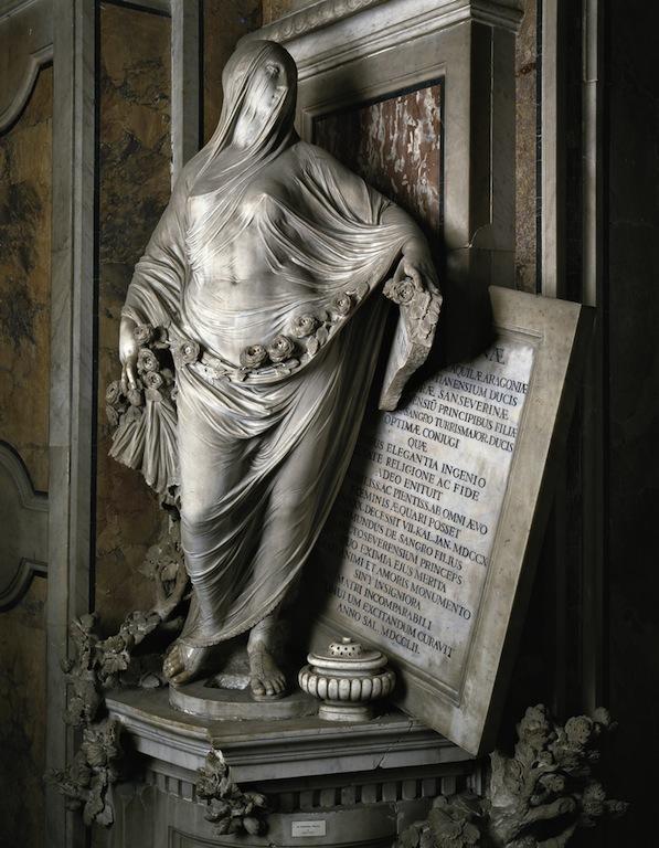 Antonio Corradini 《ヴェールに包まれた謙遜》