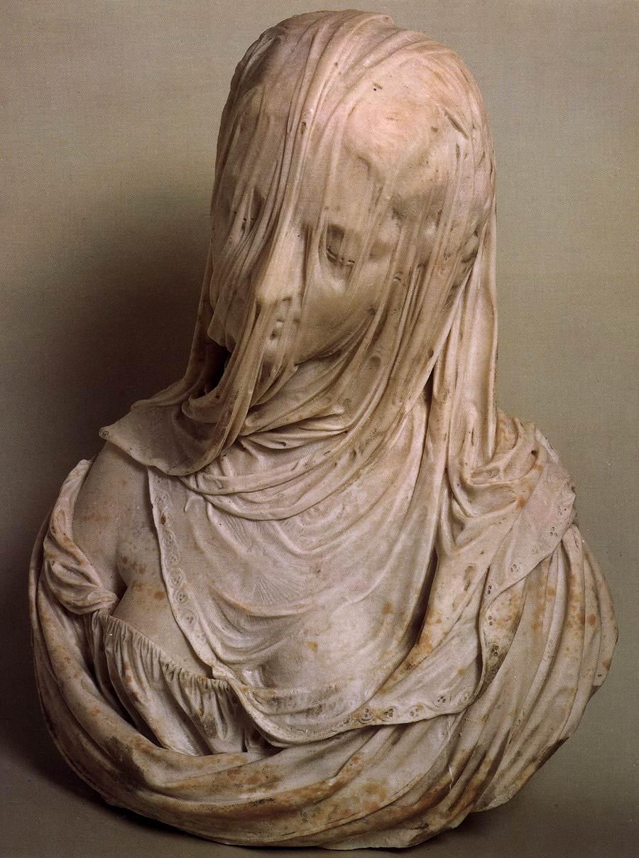 Bust of a Veiled Woman (Puritas) アントニオ・コルディーニ