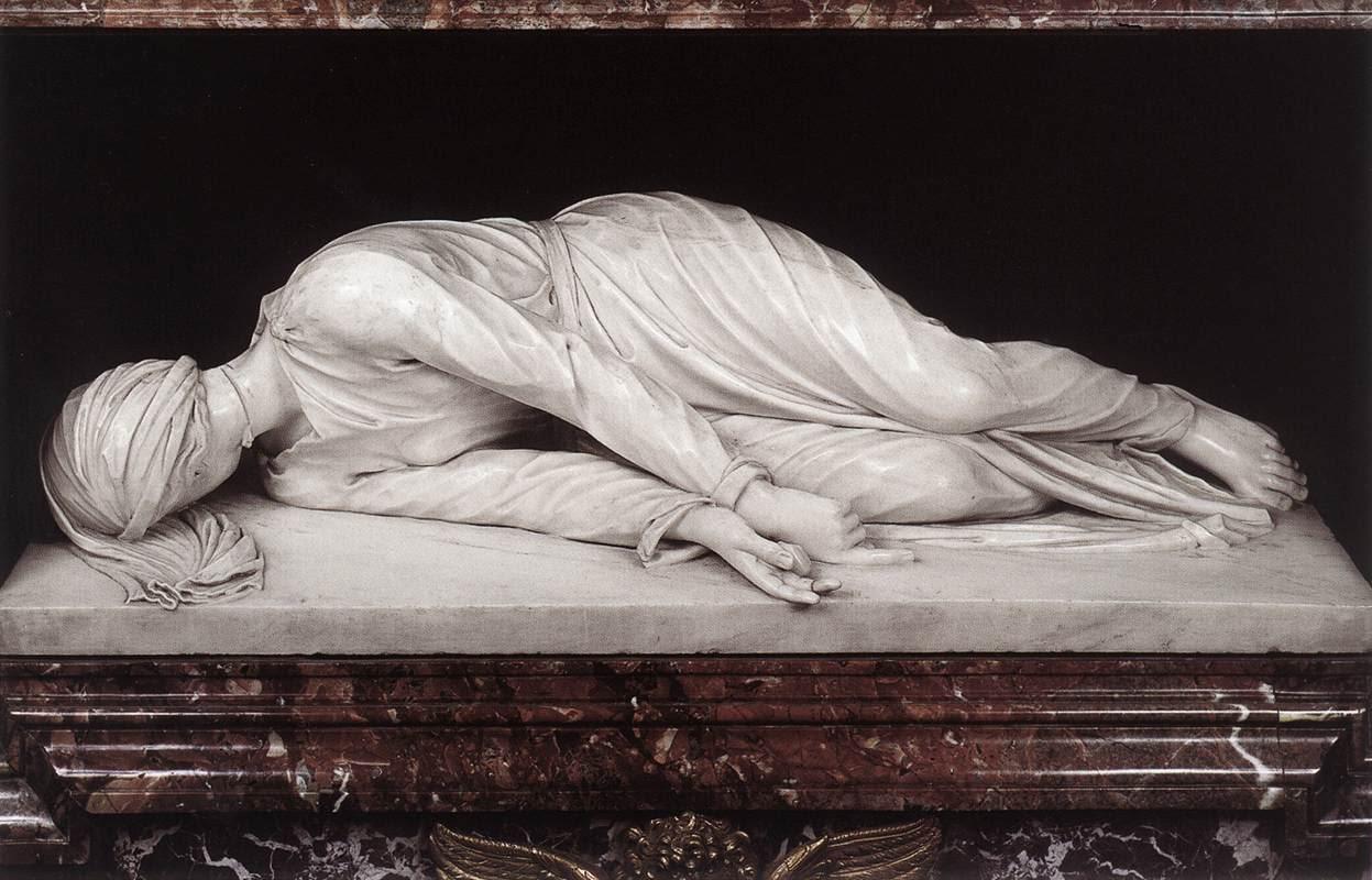 Stefano Maderno, Santa Cecilia 1600  Trastevere Roma