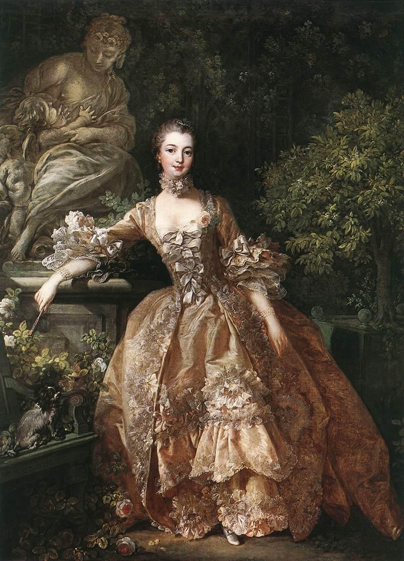 フランソワ・ブーシェ《ポンパドゥール夫人》(1759)