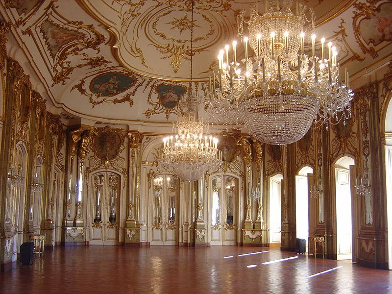 《ケルス国立宮殿・「舞踏会の間」》(ポルトガル、ケルス)
